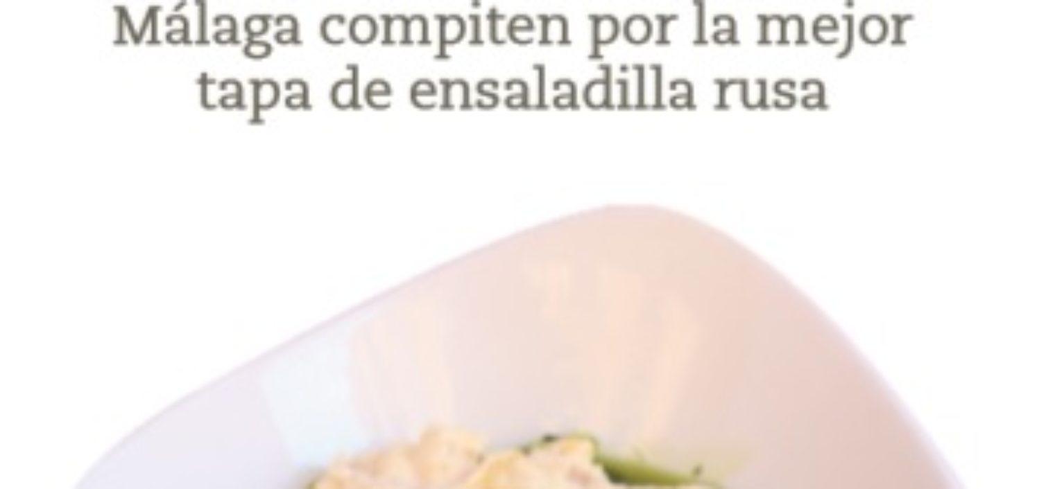 El ganador del Campeonato de Málaga de Ensaladilla Rusa.