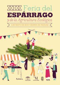 Cartel de la Feria del Espárrago y de la Agricultura Ecológica 2019.