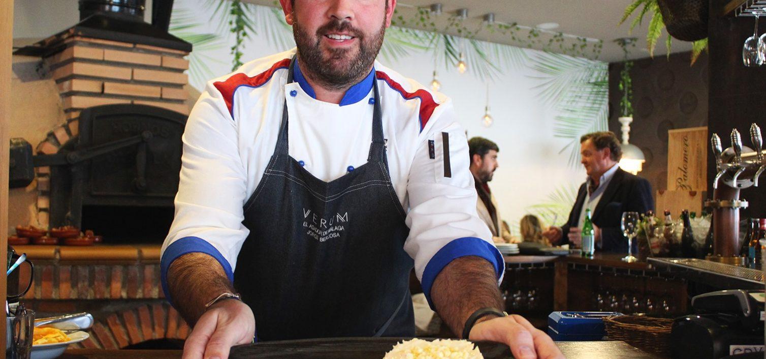 Jorge Berzosa, chef de Verum El Asador de Málaga