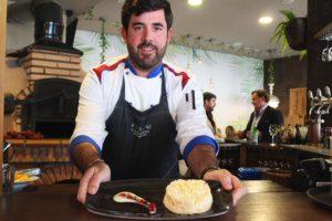 Jorge Berzosa, chef del restaurante Verum El Asador de Málaga