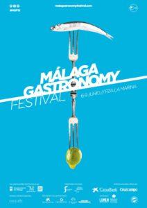 Cartel de Málaga Gastronomy Festival 2019.