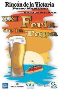 Cartel de la Feria de la Tapa de Rincón 2019.