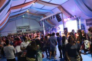 Ambiente en la Feria de la Tapa de Rincón 2019.