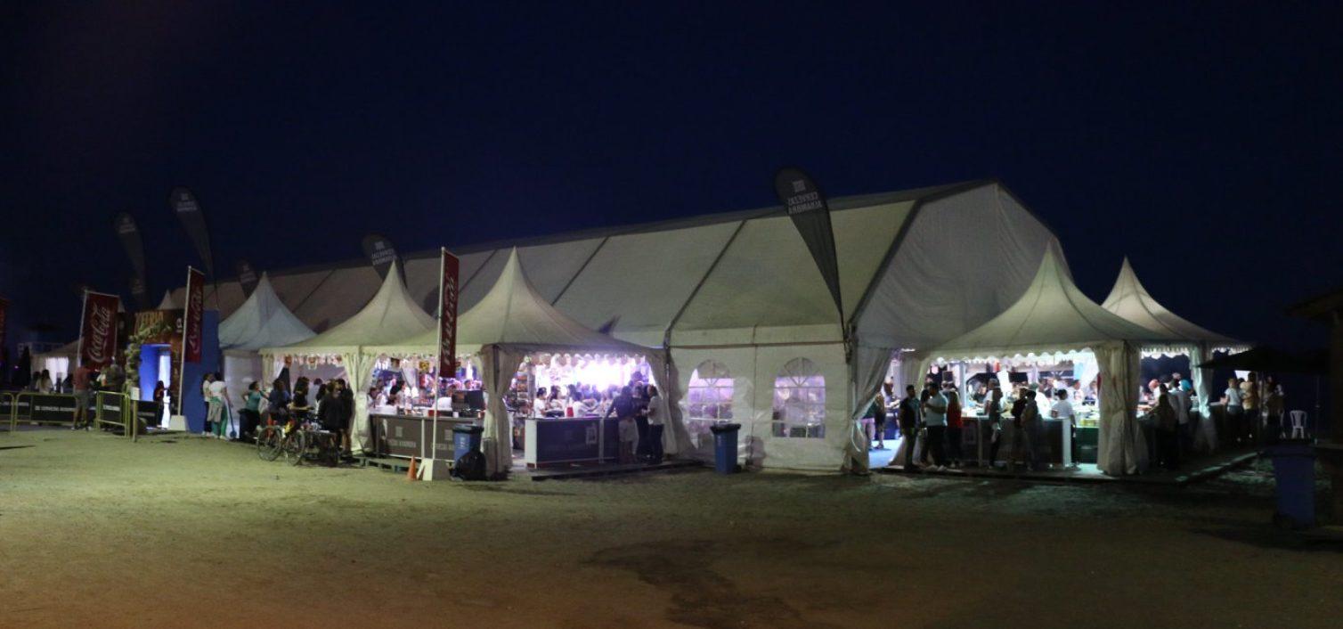 Feria de la Tapa de Rincón 2019 de noche