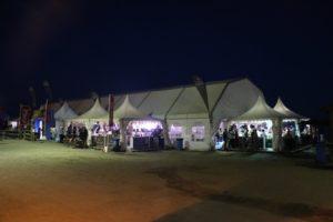 Feria de la Tapa de Rincón 2019 de noche.