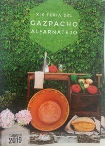 Feria del Gazpacho de los Tres Golpes 2019 en Alfarnatejo