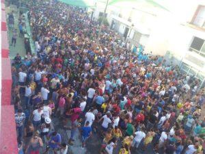 Ambiente en la Fiesta de la Vendimia de Manilva 2019.