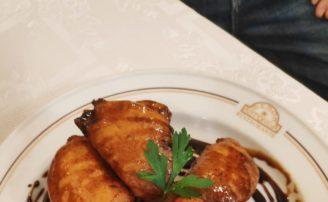 Receta de berenjenas con miel de caña del Mesón Astorga