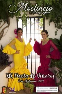 Cartel de la Fiesta de Viñeros 2019.