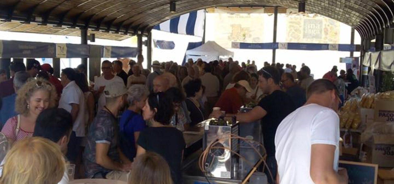 Ambiente en la Feria Sabor a Málaga 2019 en Coín.