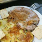Cabezal de lomo con salsa el Mellizo (Bar Mellizo).