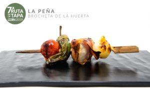 Brocheta de la Huerta (Bar La Peña)