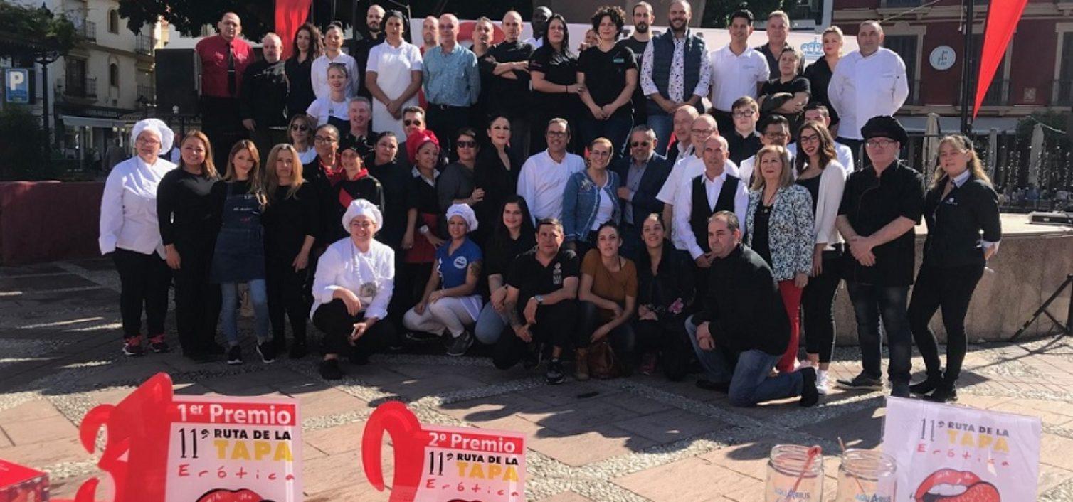 Establecimientos participantes en la Ruta de la Tapa Erótica de Fuengirola 2019