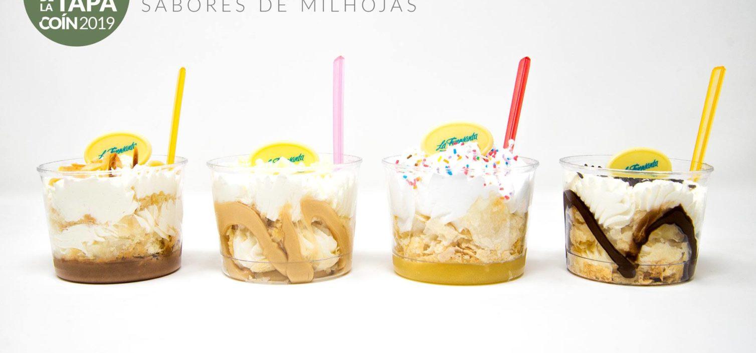 Sabores de Milhojas (Pastelería La Fuensanta).