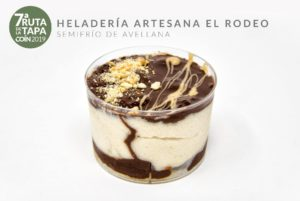 Semifrío de Avellana (Heladeria Artesanal El Rodeo).