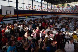 Cientos de personas se esperan en la Fiesta de la Chanfaina 2019.