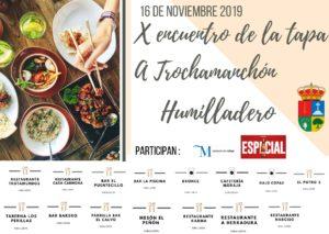 Encuentro de la tapa a trochamanchón 2019 (Humilladero).
