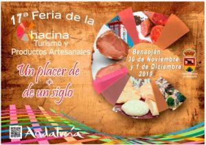 Cartel de la Feria de la Chacina de Benaoján 2019.