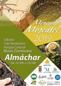 Cartel del Mercado Moscatel 2019.