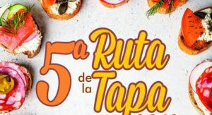 Cartel de la Ruta de la Tapa El Palo-Pedregalejo 2019.
