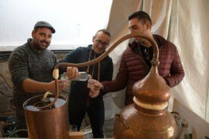 Destilación en el Concurso del Aguardiente de Jubrique 2019