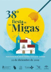 Cartel de la Fiesta de las Migas 2019.