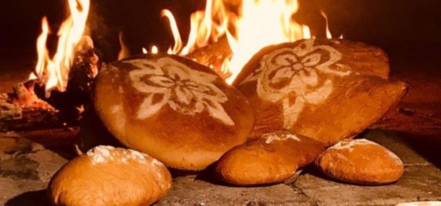 Pan saludable en la Feria de Artesanía del Valle del Genal 2019.