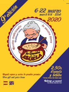 Ruta de la tapa La Cazuela de la Abuela 2020