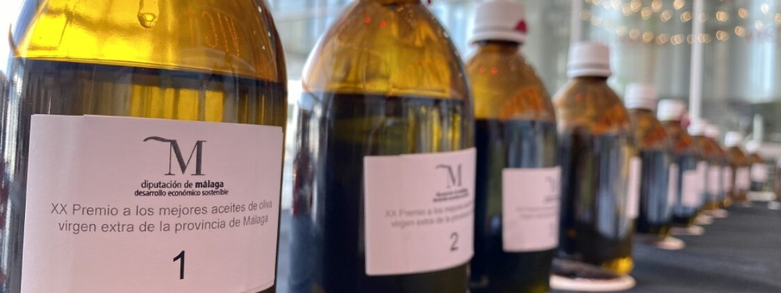 Premios a los mejores aceites de oliva virgen extra de Málaga 2021